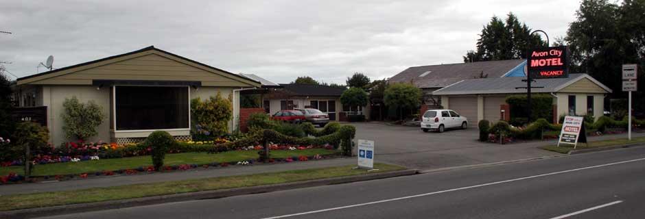 Avon City Motel Christchurch City Motel Accommodation Motel